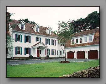 A classic Connecticut colonial.