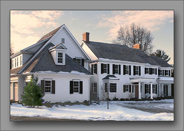A country house in Fairfield County, CT